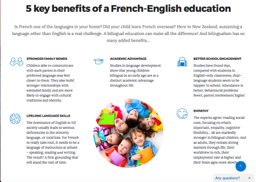 5 Key Benefits Of A French English Education