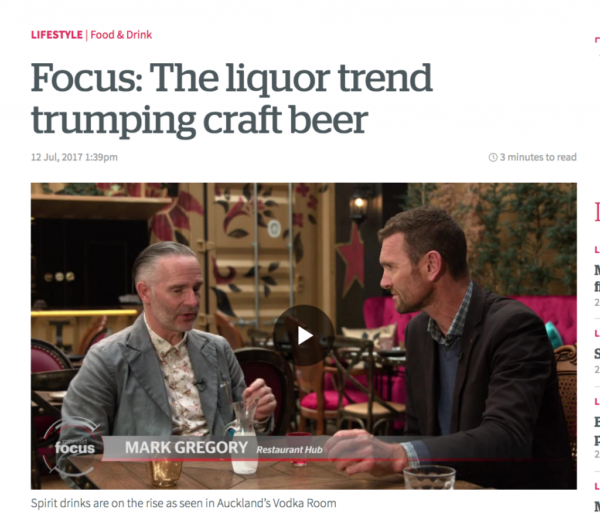 Focus THE Liquor Trend Trumping Craft Beer